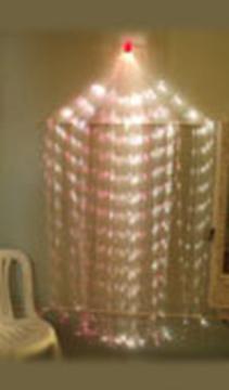 Пучок фиброоптических волокон с боковым свечением «Звездный дождь»