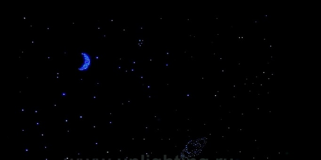 Световое панно «Звездное небо с планетами»