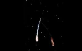 Анимационный фибероптический эффект «Метеориты»