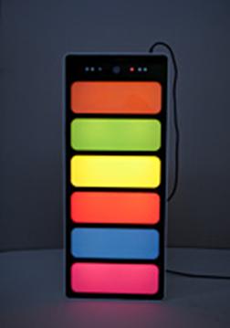 Панель светозвуковая интерактивная «Лестница света»