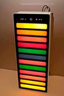 """Панель светозвуковая интерактивная """"Лестница света"""" (9 или 12 ячеек – на выбор)"""