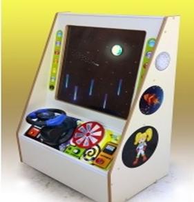 Интерактивная панель «Космический пульт»