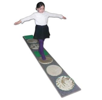 Сенсорная тропа для ног (подушечек - 7 шт)