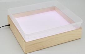 Планшет для Эбру с  поддоном А4,белая подсветка