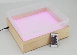 Планшет для Эбру с  поддоном А4, цветная подсветка