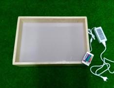 Планшет для рисования песком 600х400 без крышки, цветная