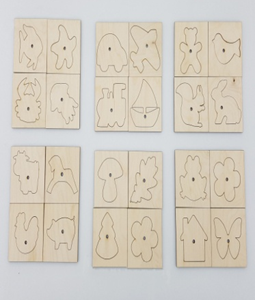 Комплект трафаретов из 6 наборов