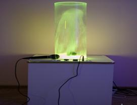 Светозвуковой водный фонтан