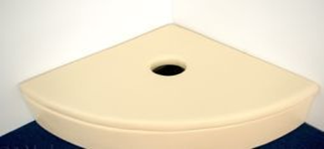 Мягкая закругленная платформа для пузырьковой колонны