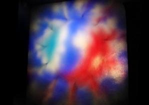 Прибор динамической заливки света Плазма-250