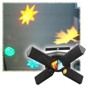 Звукоактивированный проектор светоэффектов «Русская пирамида»