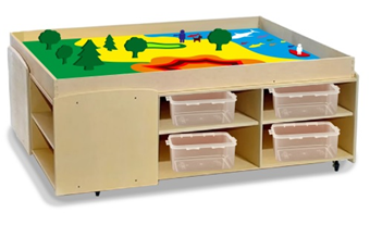 Ландшафтный стол с набором игрушек