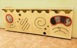 Декоративно-радиаторная панель