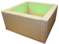 Сухой бассейн квадратный (шаров - 1080 шт.)