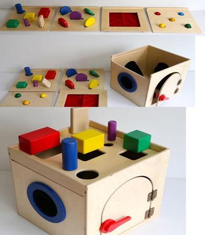 Тактильный ящик