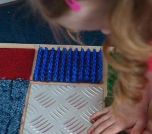 Тактильно-развивающая панель «Текстуры»