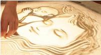 Световой стол для рисования песком (в комплект входит песок 6  кг)