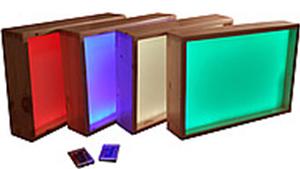 Световой стол (или настольный модуль) для рисования песком