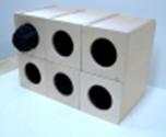 Тактильные ячейки (комплект из 6 ячеек)