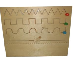 Настенный модуль для упр. в развитии запястья-движение по прорези