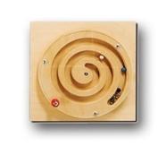"""Тактильно-развивающая панель """"Лабиринт-колесо"""""""