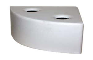 Мягкая платформа для воздушно-пузырьковой трубки угловая (600х600х300)