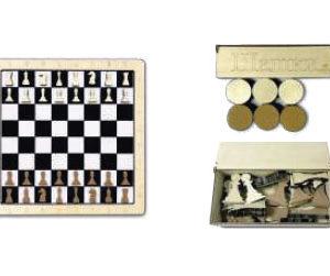 Настенная игра «2 в 1 шашки + шахматы»
