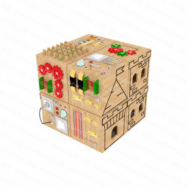 Набор кубиков бизибордов «Мои друзья»