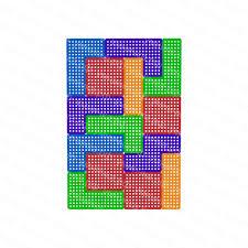 Настенная панель ‹‹Тетрис»