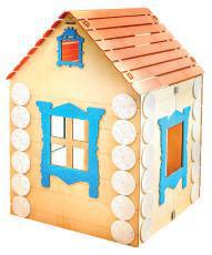 Деревянный домик «Терем-теремок»
