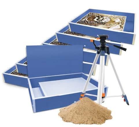 Готовая студия «Оптима» для рисования песком