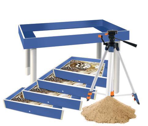 Готовая студия «Профи» для рисования песком