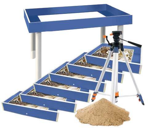 Готовая студия «Стандарт» для рисования песком