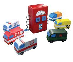 Набор общеразвивающий «Автобум» (6 машинок + заправка)