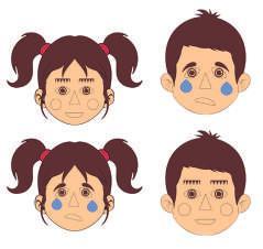 Развивающий магнитный набор «эмоции»