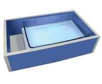 Стол для аква-анимации с подсветкой «Водное чудо-1»