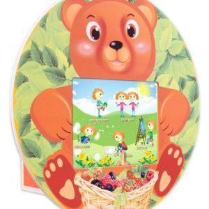Детский игровой терминал «Мишка» (настенный)
