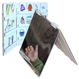 Детское зеркало-книжка