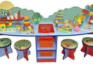 Дидактический стол «Ромашка» с наполнением
