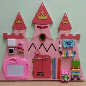 Декоративно-развивающая панель «Дворец принцессы»
