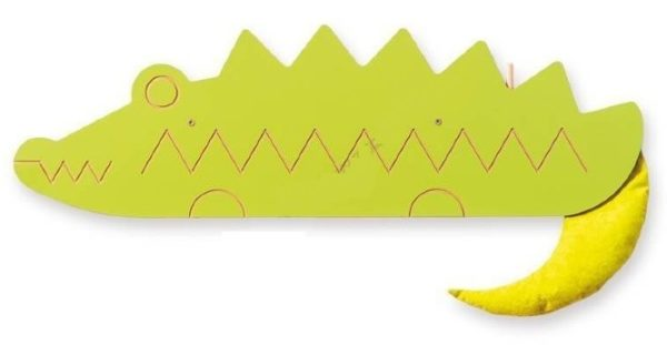 Декоративно-развивающая панель «Крокодил»