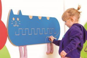 Декоративно-развивающая панель «Кот»